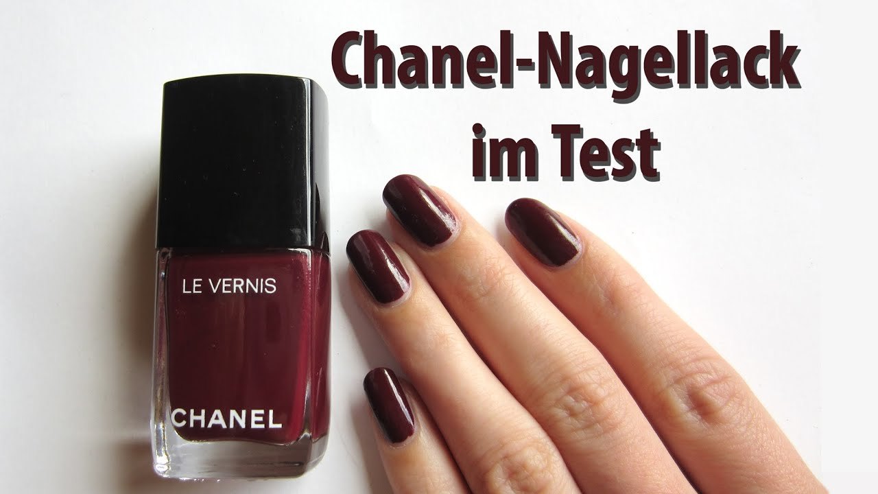 Produkttest Chanel Nagellack Seni Nageldesign Youtube