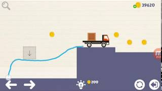 Brain on physics boxs level 6, 7, 8, 9, 10 walkthrough