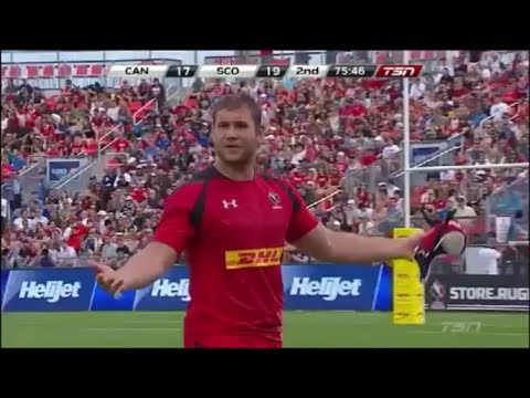 Mike Fraser controversially ruins Canada's chance to beat Scotland