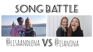 Musical.ly Song Battle Compilation | Lisa and Lena VS Isa Nina | Part 3
