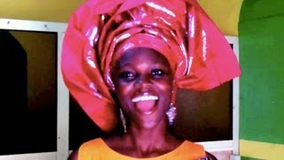 "How-to wear African Head-Wrap with SWAGGER !! (including ""satellite dish"" style at the end...)"