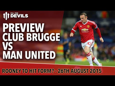 Club Brugge Vs Manchester United Champions League