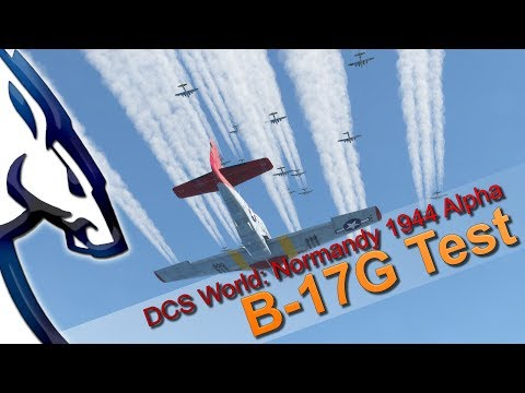 DCS World War II: B-17 Mission Test