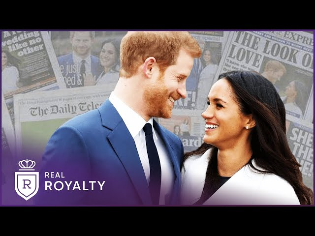 How The World First Reacted To Prince Harry And Meghan Markle   Harry And Meghan   Real Royalty