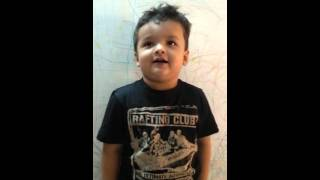 Funny baby funny video Indian baby cute baby poem  cute boy Soham