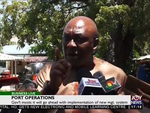 Port Operations - Business Live on JoyNews (28-5-18)