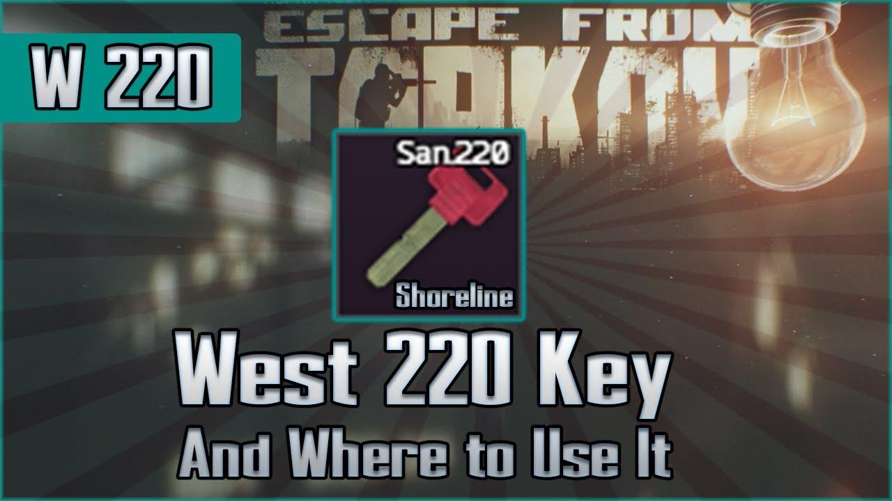 escape from tarkov key 220