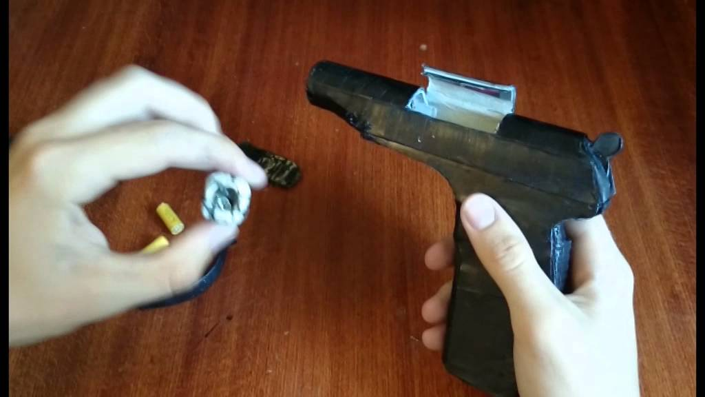 Стреляющий пистолет Макарова