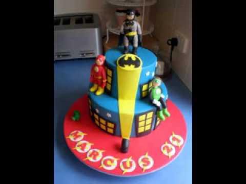 Diy Justice League Cakes