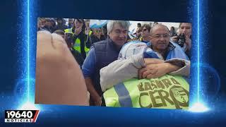Video: Emilio entró a Río Grande tras caminar por más de siete meses por las rutas argentinas.