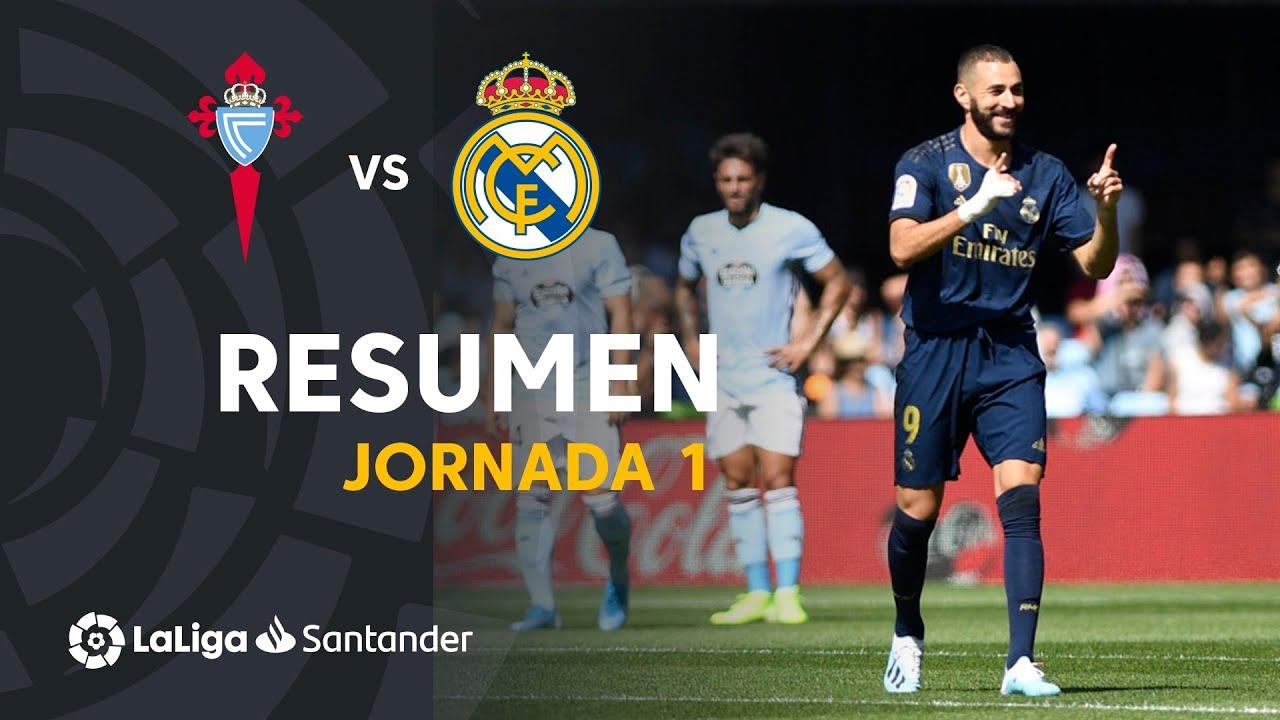 Resumen de RC Celta vs Real Madrid (1-3)