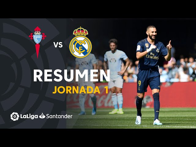 Resumen de RC Celta vs Real Madrid (1-3)