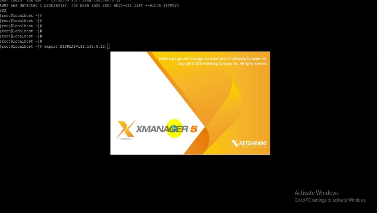 Set Display or export DISPLAY - in easy steps