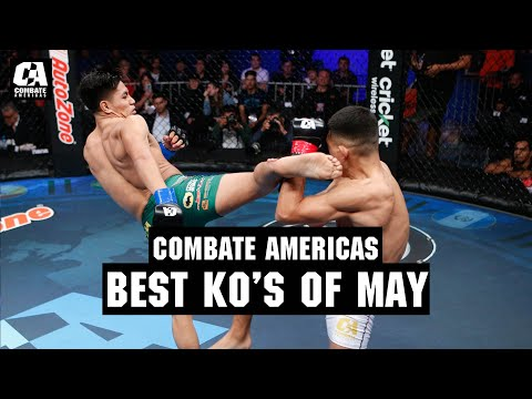 David Martinez Headlines The Best Knockouts Of May   MMA
