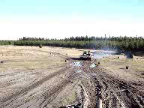 FV432 APC and T-55 tank driving (plus Saracen APC ride) at Tanks For Everything