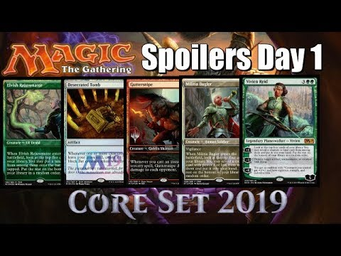 Mtg Core Set 2019 Spoilers: Best Reprints and New Cards from Day One!