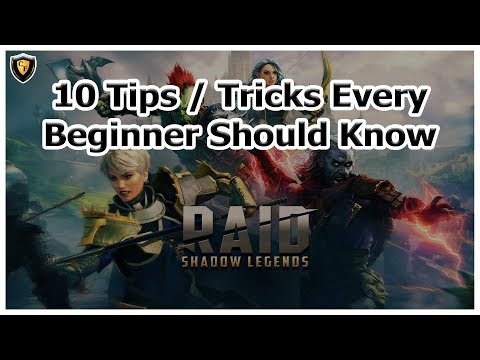 RAID Shadow Legends - 10 Tips / Tricks Every Beginner Should Know