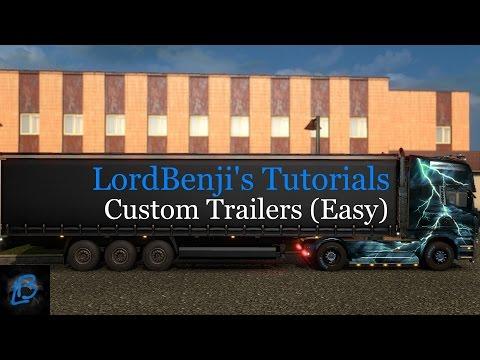 Tutorial: Custom Trailers in TruckersMP | *UPDATED, CHECK DESC*