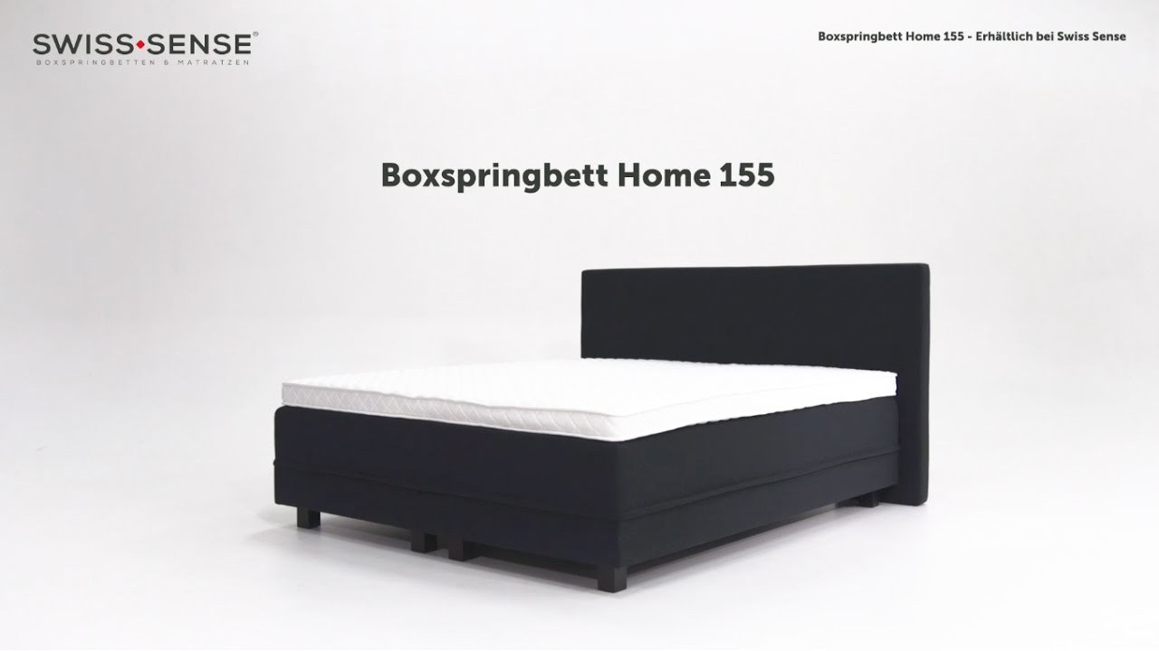 Swiss sense instruction video boxspringbett home swisssense