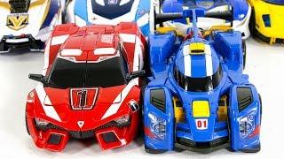 HelloCarbot TobotV TobotAthlon JuCops Police SuperCar Toy Transformation