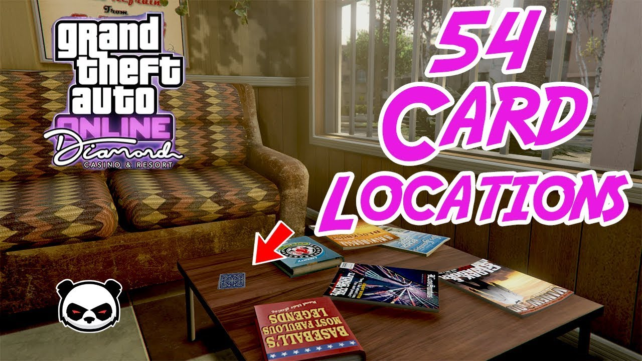 All 54 Playing Cards Locations   GTA Online Casino - YouTube