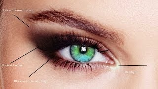 HOW TO MAKE YΟUR EYES LOOK BIGGER AND LONGER - SUPER EASY VERY DRAMATIC!