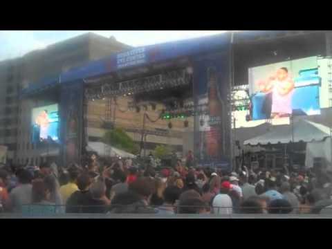 Nelly - Birmingham AL, Schaeffer Crawfish Boil 4/30/2011