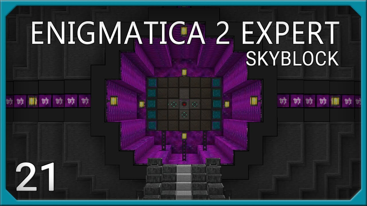 Enigmatica 2 Expert EP21 Will Automation + Iridiescent Altar