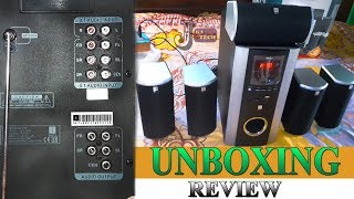 iBall Booster BTH 5 1 Channel Speaker Unboxing and Review Hindi