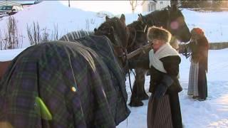 Over fjellet med hest og slede