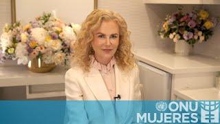 """Nicole Kidman: """"Juege su papel en la eliminación de la violencia contra las mujeres"""""""