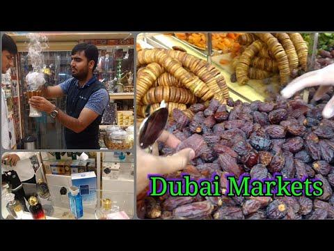 Markets in Dubai | Perfume souk, spice souk, textile souk.