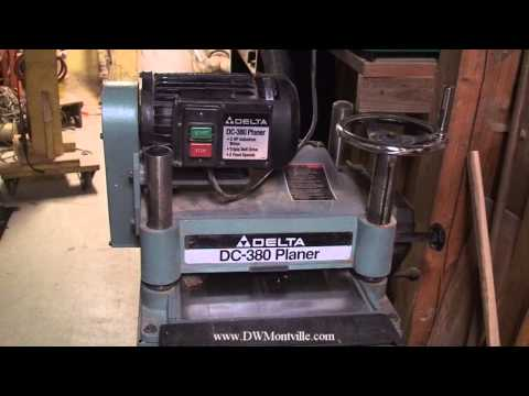 Rockwell Invicta industrial woodworking planer 13 inch ...