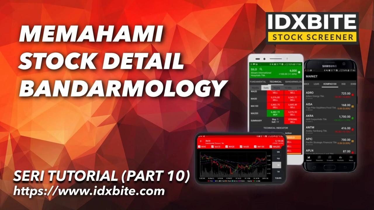 Part 10 Mengenal Stock Detail Bandarmology Youtube