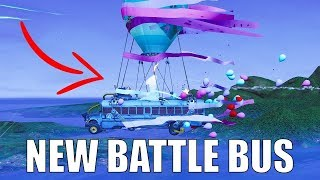 FORTNITE NEW BATTLE BUS BIRTHDAY SPECIAL!
