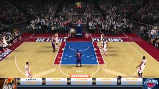 NBA 2K15 Sapphire George Mikan pack opening and lineup review