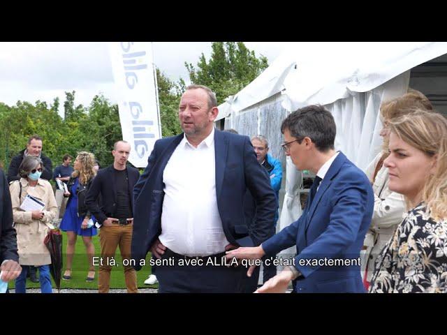 ALILA - 1ère Pierre de KER LEGUILLON - Erwan ROBERT - Directeur Général de Bretagne Sud Habitat 1/1