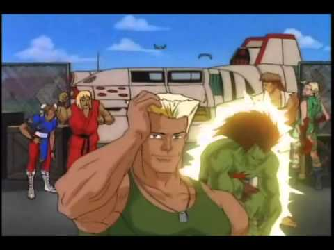 Street fighter Serie animada Intro Latino + Creditos