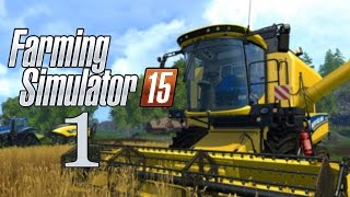 Let's Play Farming Simulator 2015 - Part 1 - Walkthrough Gameplay - Bjornholm - A Scenic Drive