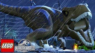 A PERSEGUIÇÂO! - Lego Jurassic World #7 (Em Português)