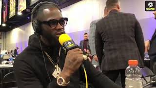 DEONTAY WILDER EXPOSES LUIS ORTIZ'S EXCUSES FOR ANTHONY JOSHUA VS JARRELL MILLER REPLACEMENT FIGHT