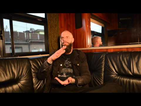 John Baizley of Baroness video interview - Toronto - May 3rd, 2016