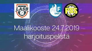 Maalikooste LASB - ÅIF/PSS B-pojat (Harjoituspeli 24.7.2019)