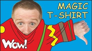 Magic T-Shirt for Kids | English Stories for Children from Steve and Maggie | Wow English TV thumbnail