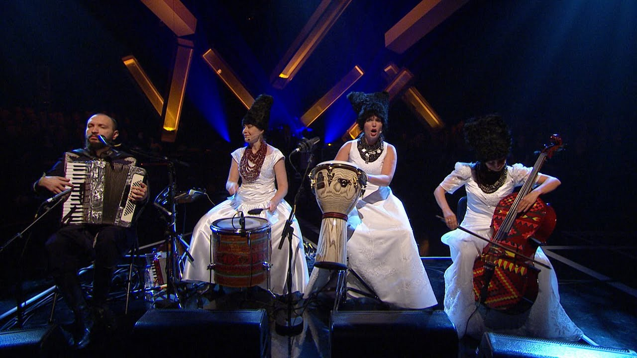 Download DakhaBrakha - Sho Z-Pod Duba - Later… with Jools Holland - BBC Two