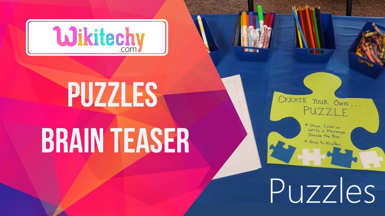 Brain Teaser Puzzle | Puzzle Games | Brain Games | Puzzle | Brain Teasers |  Math Puzzles