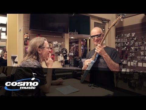 """Ken Newfield talks about building Kim Mitchell's beloved guitar, """"Blue"""" - Cosmo Music"""