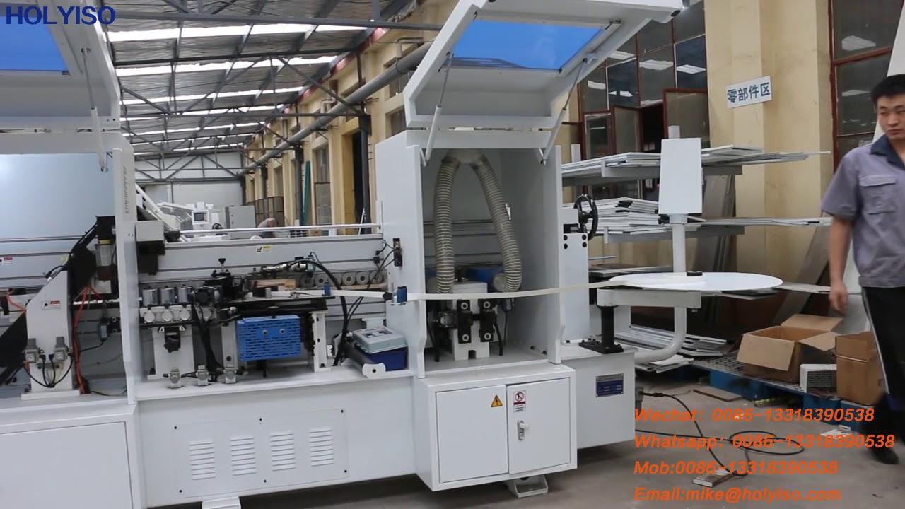 HOLYISO 7 Function 0 4-3mm PVC Edge Banding Machine MFZ605