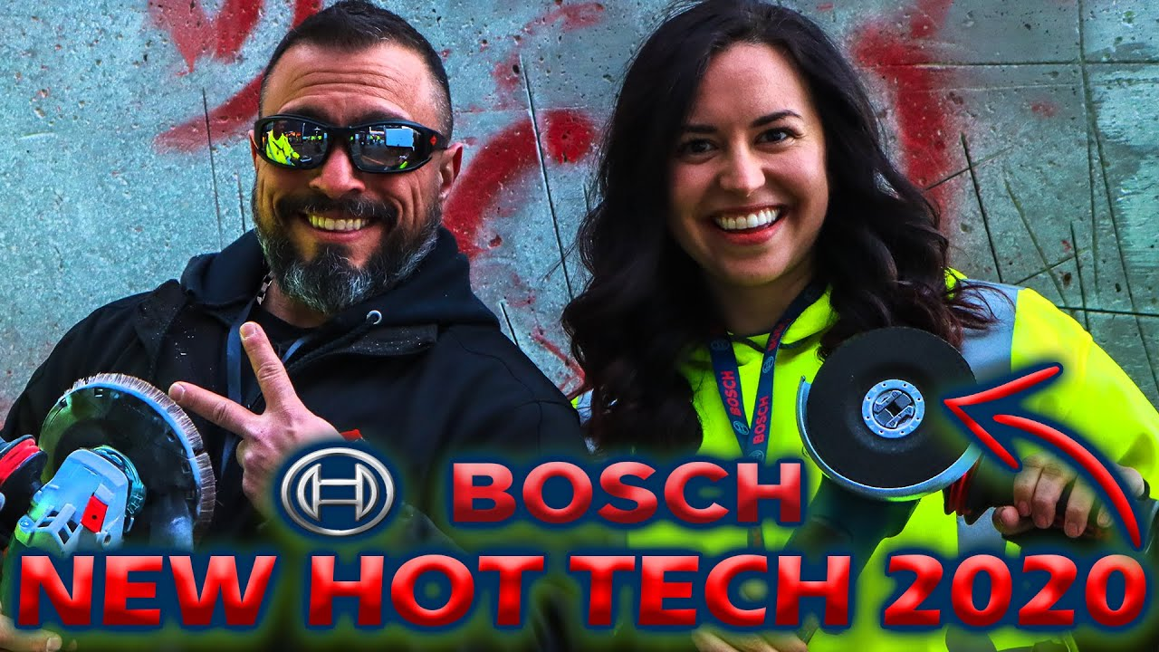 BOSCH Tools New Technology (2020) OTHER COMPANIES DON'T WANT YOU TO SEE THIS!