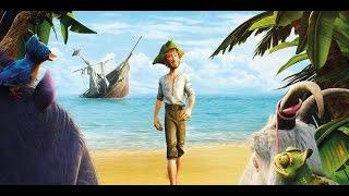 Робинзон Крузо: Очень обитаемый остров (2016) - Русский Трейлер (мультфильм)